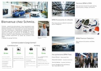 Nouvelle brochure de BMW Schmitz