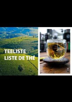 Nouvelle brochure de La maison du thé