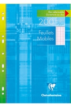1751C: FEUILLETS MOBILES A4 SEYES 200PAGES 1751C