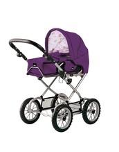 BRIO Puppenwagen Combi violet