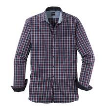 Olymp Hemd blau/rot/schwarz-M