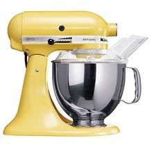 KitchenAid ARTISAN 4,8L  Küchenmaschinen mit kippbarem Motorkopf 5KSM150PS - 156  PASTELGELB