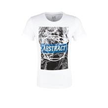Q/S designed by T-Shirt mit Artwork-Print blau/schwarz/weiß-S