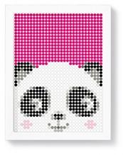 dot on art kid diy poster - Panda