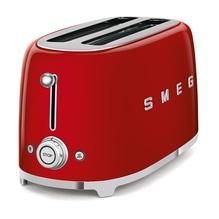 SMEG 4 Scheiben Toaster TSF02RREU ROT