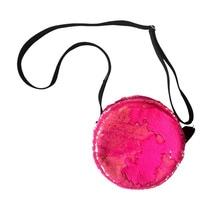 Pink Fluo Round bag