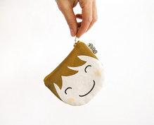 Coin purse Yuki brunette