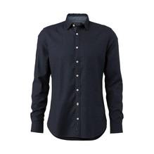 Marc O'Polo Langarm-Hemd blau-M