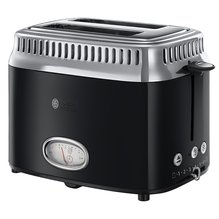 Russell - Hobbs Toaster Retro Classic schwarz