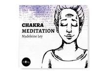 Chakra Meditation CD- Label - Madeleine Ley