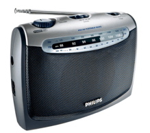 Philips Tragbares Radio AE2160