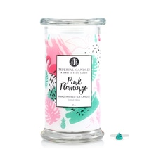 Imperial Candles Pink Flamingo  Ohrringe