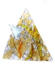 Glas kunst objekt