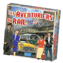 LES AVENTURIERS DU RAIL - New York (fr)