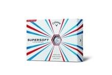 Callaway SuperSoft 12 weiße Bälle