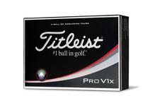 Titleist Pro V1x 12 Weiße Bälle