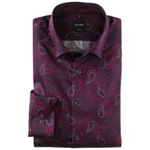 Olymp Modern Fit: Hemd blau/lila/pink-38