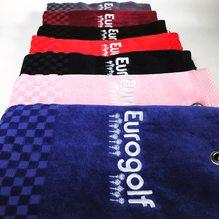 Serviette Eurogolf Tri Fold. Plusieurs coloris disponibles.