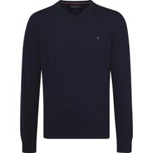 Tommy Hilfiger Pullover aus Baumwoll-Kaschmirmix blau-M