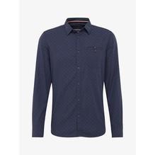 Tom Tailor Gemustertes Hemd blau-S