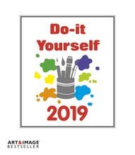 Do-it-yourself weiß 2019 Maße(B/H): 21 x 24 cm, Bastelkalender Art & Image, Dt/niederländ/engl
