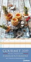 Gourmet Familientermine 2019 Familienplaner, Maße(B/H): 23 x 45,5 cm, fünfspaltig