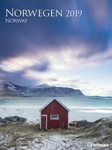 Norwegen 2019 Posterkalender, Maße(B/H): 48 x 64 cm, Fotokalender, Dt/niederländ/engl/ital/span
