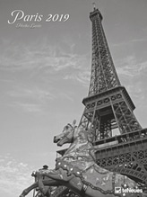 Lanio, Heiko: Paris 2019 Posterkalender, Maße(B/H): 48 x 64 cm, Fotokalender, schwarz/weiß, Dt/niederländ/engl/ital/span