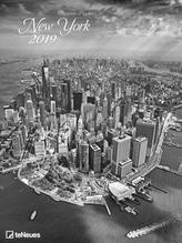 Popkes, Christian: New York 2019 Maße(B/H): 48 x 64 cm, Fotokalender, schwarz/weiß, Dt/niederländ/engl/ital/span