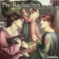 Pre-Raphaelites 2019 Broschürenkalender Kunst, Maße(B/H): 30 x 30 cm, Dt/niederländ/engl/ital/span