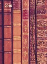 Antique Books 2019 Magneto Diary, Maße(B/H): 16 x 22 cm, Buchkalender, Mit Magnetverschluss, Dt/niederländ/engl/ital/span