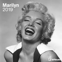 Marilyn 2019 Maße(B/H): 30 x 30 cm, Dt/niederländ/engl/ital/span, Fotokalender