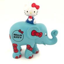 Elefant Hello Kitty blau