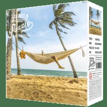 Puzzle Hygge Strand und Hängematte