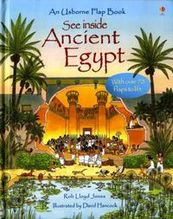 Jones, Rob Lloyd: See Inside - Ancien Egypt With over 70 flaps to lift, See inside, An Usborne Flap Book
