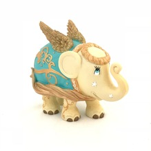 Elefant Golden Angel 10 cm