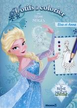 Constant Adele: La reine des neiges motifs a colorier (elsa et anna)