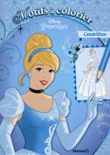 Constant Adele: Disney princesses motifs a colorier (cendrillon)