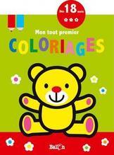 Mon tout premier coloriage (ours)