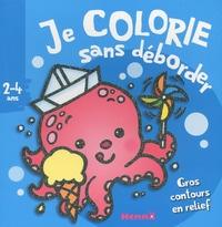 Je colorie sans deborder (2-4 ans) (pieuvre)